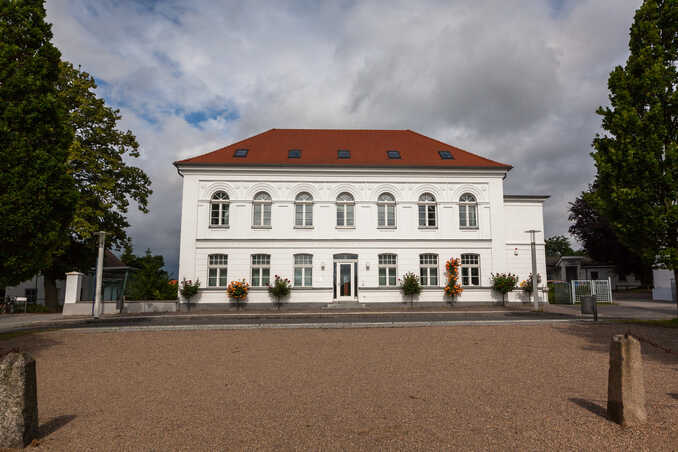 Alte Architektur von Putbus auf Rügen